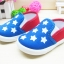 คัชชูผ้าเด็ก ลายดาวธงอเมริกาเท่ๆ ใส่สบาย Size 16-20 thumbnail 1
