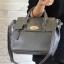 [ ลดราคา พร้อมส่ง Hi-End ] - กระเป๋าแฟชั่น นำเข้าสไตล์เกาหลี สีดำคลาสสิค ดีไซน์แบรนด์ดังแบบยุโรป งานหนังคุณภาพแบบสาน เหมาะสำหรับสาวๆ Working Woman ดูไฮโซสุดๆน่าใช้ thumbnail 5