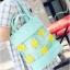 [ พร้อมส่ง ] - กระเป๋าแฟชั่น นำเข้าสไตล์เกาหลี ถือ&สะพายไหล่ ดีไซน์น่ารักเก๋ๆ สีสันสดใส น้ำหนักเบา ช่องใส่ของเยอะ เหมาะกับทุกโอกาส thumbnail 37