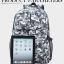 [ พร้อมส่ง ] - กระเป๋าเป้แฟชั่น นำเข้าสไตล์เกาหลี ลายดิจิตดอลโทนสีเขียวเข้ม ใบใหญ่ ดีไซน์สวยเก๋ เท่ไม่ซ้ำใคร thumbnail 5
