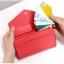 [ Pre-Order ] - กระเป๋าสตางค์แฟชั่น สไตล์เกาหลี สีชมพูบานเย็น ใบใหญ่(รุ่นใหม่หนังสวย) แต่งมงกุฎ งานหนังอัดลายสวยน่ารัก น่าใช้มากๆค่ะ thumbnail 12