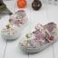 รองเท้าคัชชูผ้าดอกไม้หวานๆ น่ารัก (เท้ายาว 13-16.5 ซม.) thumbnail 5