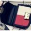 [ ลดราคา ] - กระเป๋าแฟชั่น กระเป๋าคลัทช์&สะพาย สีทรีโทนสุดชิค ไซส์ MINI งานหนังคุณภาพ แต่งอะไหล่สีทองอย่างดี มีสายโซ่ทองสะพายไหล่ได้ค่ะ thumbnail 17