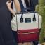[ ลดราคา ] - กระเป๋าเป้แฟชั่น สไตล์เกาหลี สีทรีโทน ใบใหญ่จุของเยอะ ดีไซน์สไตล์แบรนด์สุดฮิต เหมาะกับสาว ๆ ที่ชอบกระเป๋าเป้ใบใหญ่ๆ แต่น้ำหนักเบา thumbnail 3