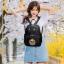 [ พร้อมส่ง HI-End ] - กระเป๋าเป้แฟชั่น สไตล์เกาหลี สีดำคลาสสิค ปักลายสุดเก๋ ดีไซน์สวยเท่ๆ งานผ้าร่มไนลอนอย่างดี น้ำหนักเบา น่าใช้มากๆค่ะ thumbnail 13