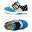 รองเท้าคัชชูผ้าเด็กเท่ห์ๆ B.boy ดาวธงอเมริกา สีฟ้าเทาดำ Size 21-32 thumbnail 2