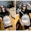 [ ลดราคา ] - กระเป๋าเป้แฟชั่น นำเข้าสไตล์เกาหลี สีดำเงา ปักหมุดสุดเท่ ดีไซน์สวยเก๋ไม่ซ้ำใคร เหมาะกับสาว ๆ ที่ชอบกระเป๋าเป้ น้ำหนักเบามากๆค่ะ thumbnail 15