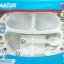 จานหลุมก้นลึก 3 ช่อง+ช้อนส้อมโดเรมอน Natur Doraemon Feeding Plate Set thumbnail 1