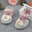 รองเท้าคัชชูผ้าดอกไม้หวานๆ น่ารัก (เท้ายาว 13-16.5 ซม.) thumbnail 2