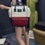 [ ลดราคา ] - กระเป๋าเป้แฟชั่น สไตล์เกาหลี สีทรีโทน ใบใหญ่จุของเยอะ ดีไซน์สไตล์แบรนด์สุดฮิต เหมาะกับสาว ๆ ที่ชอบกระเป๋าเป้ใบใหญ่ๆ แต่น้ำหนักเบา thumbnail 4