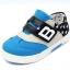 รองเท้าคัชชูผ้าเด็กเท่ห์ๆ B.boy ดาวธงอเมริกา สีฟ้าเทาดำ Size 21-32 thumbnail 12