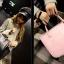 [ ลดไม่เอากำไรเดือน ต.ค. 60 ] - กระเป๋าแฟชั่น นำเข้าสไตล์เกาหลี ดีไซน์เรียบหรู น้ำหนักเบา ช่องใส่ของเยอะ เหมาะกับทุกโอกาส thumbnail 34