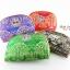 ของที่ระลึกไทย กระเป๋าผ้าลายไทย ขอบทอง (ขนาด: ขอบทอง L) ลายช้างป่า หนึ่งโหลคละสี จำหน่ายยกโหล สินค้าพร้อมส่ง thumbnail 1