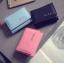 [ พร้อมส่ง ] - กระเป๋าสตางค์แฟชั่น สไตล์เกาหลี ใบเล็ก หนังนิ่มน้ำหนักเบา พกพาสะดวก แบบ 3 พับ กระดุมปิด thumbnail 7