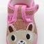 รองเท้าเด็กอ่อน ลายหมี สีชมพู thumbnail 5