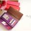 [ พร้อมส่ง ] - กระเป๋าสตางค์แฟชั่น สไตล์เกาหลี สีน้ำตาลเข้ม ใบยาว แต่งกระรอกน้อย งานสวยน่ารัก น่าใช้มากๆค่ะ thumbnail 3