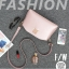 [ ลดราคา ] - กระเป๋าแฟชั่น กระเป๋าคลัทช์&สะพาย สีดำ ไซส์ MINI งานหนังคุณภาพ แต่งอะไหล่สีทองอย่างดี มีสายสะพายไหล่ 2 เส้น thumbnail 22