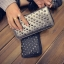 [ พร้อมส่ง ] - กระเป๋าสตางค์แฟชั่น สไตล์เกาหลี ใบยาว ปักหมุดเท่ๆทั้งใบ สวยเก๋ไม่ซ้ำใคร สไตล์สาวมั่น ชอบงานเท่ๆ เหมาะมากๆค่ะ thumbnail 2