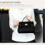[ พร้อมส่ง Hi-End ] - กระเป๋าแฟชั่น สีดำคลาสสิค ขนาดกระทัดรัด ดีไซน์แบรนด์ดัง สวยเรียบหรู ดูดี งานหนังคุณภาพอย่างดี เหมาะทุกโอกาสการใช้งาน thumbnail 11