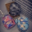 [ Pre-Order ] - กระเป๋าเป้แฟชั่น นำเข้าสไตล์เกาหลี สีโทนดำเทา พิมพ์ลายหนังแบบสาน ทรงเก๋ ๆ ใบกลางสะพายหลัง มีช่องใส่เยอะ หนังคุณภาพสวย น่ารักมากๆค่ะ thumbnail 9