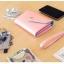 [ พร้อมส่ง ] - กระเป๋าสตางค์แฟชั่น สไตล์เกาหลี สีชมพูเข้ม ใบเล็ก แต่งมงกุฎ งานสวยน่ารัก น่าใช้มากๆค่ะ thumbnail 8