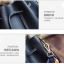 [ Pre-Order ] - กระเป๋าแฟชั่นสะพายไหล่ สีเทาสุดหรู ใบกลางๆ ทรงขนมจีบสุดเก๋ ดีไซน์สวยเรียบหรู งานหนังคุณภาพอย่างดี ปรับใช้งานได้หลายสไตล์ thumbnail 17