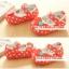 รองเท้าคัชชูเด็กเล็กหญิง ลายโบว์จุด Size 14-18 thumbnail 1