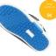 รองเท้าคัชชูผ้าเด็กเท่ห์ๆ B.boy ดาวธงอเมริกา สีฟ้าเทาดำ Size 21-32 thumbnail 11