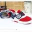 รองเท้าคัชชูกีฬาเด็กเท่ห์ๆ B.boy ดาวธงอเมริกา สีแดงขาวกรม Size 21-32 thumbnail 4