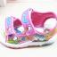 รองเท้าแตะรัดส้นเด็กหญิง มีไฟกระพริบ Size 18-23 thumbnail 4