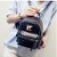 [ ลดราคา ] - กระเป๋าเป้แฟชั่น สไตล์เกาหลี สีดำปักเลื่อมวิ้งส์ๆ ใบเล็กจิ๋วๆ กระทัดรัด พกพาง่าย ดีไซน์สวยเก๋ไม่ซ้ำใคร thumbnail 2
