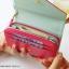 [ พร้อมส่ง ] - กระเป๋าสตางค์แฟชั่น สไตล์เกาหลี สีชมพูเข้ม ใบกลาง(รุ่นใหม่) แต่งมงกุฎ งานสวยน่ารัก น่าใช้มากๆค่ะ thumbnail 7