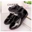รองเท้าคัชชู หนังแก้ว สายเพชร หญิง สวยหรู Size 21-36 thumbnail 2