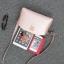 [ ลดราคา ] - กระเป๋าแฟชั่น กระเป๋าคลัทช์&สะพาย สีดำ ไซส์ MINI งานหนังคุณภาพ แต่งอะไหล่สีทองอย่างดี มีสายสะพายไหล่ 2 เส้น thumbnail 21