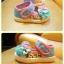 รองเท้าคัชชูผ้าเด็กเล็ก สีฟ้าชมพูหวาน Kitty (เท้ายาว 11-14 ซม.) thumbnail 2