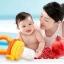 ซิลิโคนใส่ผลไม้ จุกดูดผลไม้กินเอง Nana Baby สำหรับเด็กวัย 6-18 เดือน thumbnail 9
