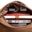 [ พร้อมส่ง ] - กระเป๋าแฟชั่น ผู้ชาย ผู้หญิงใช้ได้ สะพายข้าง สีดำ ใบกลางๆ ช่องใส่ของเยอะ Canvas+Nylon คุณภาพ ตัดเย็บอย่างดี thumbnail 19
