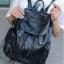 [ ลดราคา ] - กระเป๋าเป้แฟชั่น นำเข้าสไตล์เกาหลี สีทองโดดเด่น สุดเก๋ ดีไซน์สวยเก๋ไม่ซ้ำใคร สวยสุดมั่น เหมาะกับสาว ๆ ที่ชอบกระเป๋าเป้ใบกลางค่ะ thumbnail 11