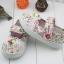 รองเท้าคัชชูผ้าดอกไม้หวานๆ น่ารัก (เท้ายาว 13-16.5 ซม.) thumbnail 6