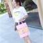 [ พร้อมส่ง ] - กระเป๋าแฟชั่น นำเข้าสไตล์เกาหลี ถือ&สะพายไหล่ ดีไซน์น่ารักเก๋ๆ สีสันสดใส น้ำหนักเบา ช่องใส่ของเยอะ เหมาะกับทุกโอกาส thumbnail 32