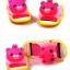 รองเท้าแตะเด็ก มีไฟส้นเท้า หมีสีชมพูบีบหัวมีเสียง Size 24-29 thumbnail 2