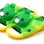 รองเท้าแตะเด็ก หมีสีเขียวบีบหัวมีเสียง Size 27-29 *** สินค้ามีไฟข้างเดียว อีกข้างไม่มีไฟค่ะ thumbnail 1