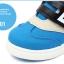 รองเท้าคัชชูผ้าเด็กเท่ห์ๆ B.boy ดาวธงอเมริกา สีฟ้าเทาดำ Size 21-32 thumbnail 8