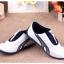 รองเท้ากีฬาเด็ก ทรงเท่ สีกรมขาว Size 21-33 thumbnail 8