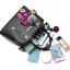 [ Pre-Order ] - กระเป๋าแฟชั่น ถือ/สะพาย สีน้ำเงินเข้ม ทรงตั้งได้ แต่งโบว์ป้อมเก๋ๆ ดีไซน์สวยเรียบหรู ดูดี งานหนังคุณภาพ ช่องใส่ของเยอะ สำเนา thumbnail 30