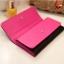 [ พร้อมส่ง ] - กระเป๋าสตางค์แฟชั่น สีชมพู ใบยาว แต่งลายหนังงู ตัดขอบสีชมพู งานสวย น่าใช้มากๆค่ะ thumbnail 7