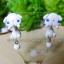 ต่างหูกระต่ายลอปสีขาว Bunny Lop white Earrings thumbnail 2