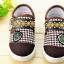 รองเท้าคัชชูผ้า แฟชั่นเด็กชาย สีน้ำตาล Size 28-33 thumbnail 4