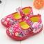 รองเท้าคัชชูผ้าหุ้มส้นเด็กหญิง ลายกุหลาบ สีฟ้า/ชมพู Size 16- 21 thumbnail 10