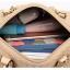[ พร้อมส่ง ] - กระเป๋าแฟชั่น ถือ&สะพาย สไตล์เกาหลี สีดำคลาสสิค ทรงหมอนตั้งได้ ไซส์ MINI ดีไซน์สวยเก๋ งานหนังสวยแบบสาน เหมาะทุกโอกาสการใช้งาน thumbnail 24